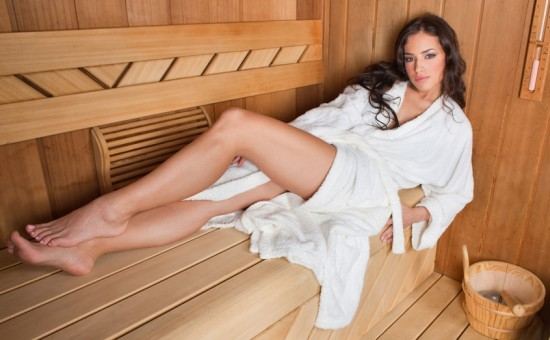 Elite erotic massage for men with steam in the sauna «Hot pleasure»